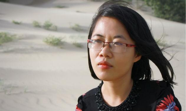 Nguyễn Thị Kim Hòa và những hạt nắng lấp lánh từ miền gió cát Phan Rang - ảnh 1