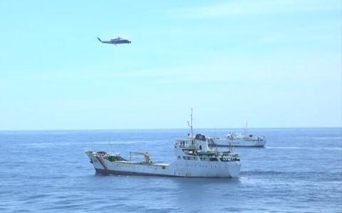 Báo Nhật đưa tin Việt-Nhật lần đầu phối hợp diễn tập trên Biển Đông - ảnh 1