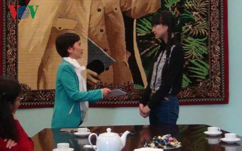 Nữ sinh Việt Nam tại Nga đoạt điểm Vàng trong kỳ thi tốt nghiệp THPT - ảnh 1