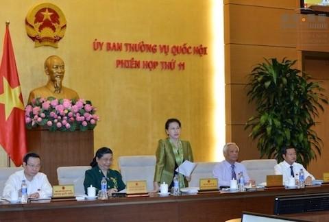 Khai mạc phiên họp thứ 12 Ủy ban Thường vụ Quốc hội - ảnh 1