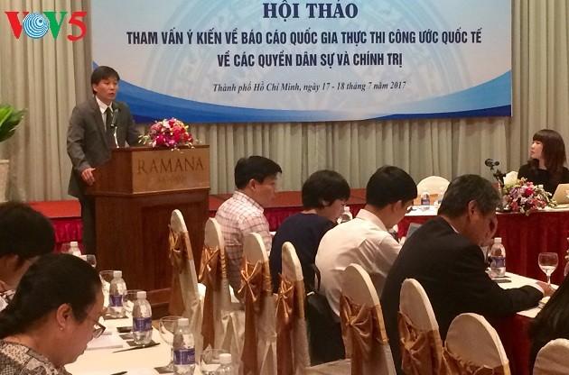Việt Nam ngày càng đảm bảo và phát huy các quyền dân sự và chính trị của công dân - ảnh 1