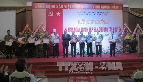 Thượng tướng Tô Lâm: Phát triển để ổn định bền vững vùng Tây Nguyên  - ảnh 1