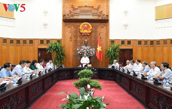 Thủ tướng Nguyễn Xuân Phúc làm việc với Hội Cựu giáo chức Việt Nam  - ảnh 2