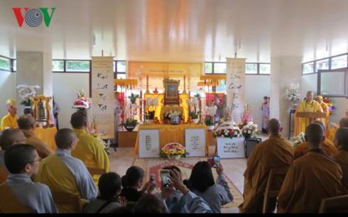 Phật tử ở Pháp tiễn đưa hòa thượng Thích Phước Đường về cõi vĩnh hằng - ảnh 1
