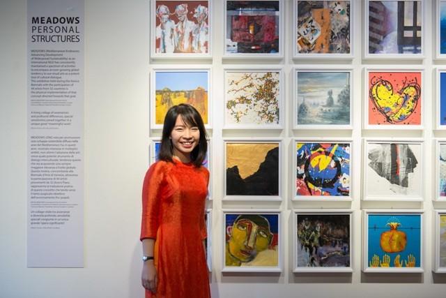 Nguyễn Mai Hương với bộ đôi giải thưởng của Triển lãm Mỹ thuật quốc tế Hàn Quốc - ảnh 4