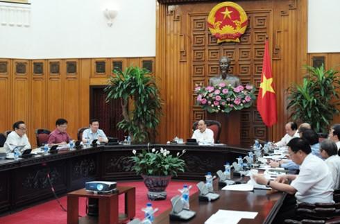 Thủ tướng Nguyễn Xuân Phúc: Đẩy mạnh cải cách thể chế kinh tế đất nước - ảnh 1