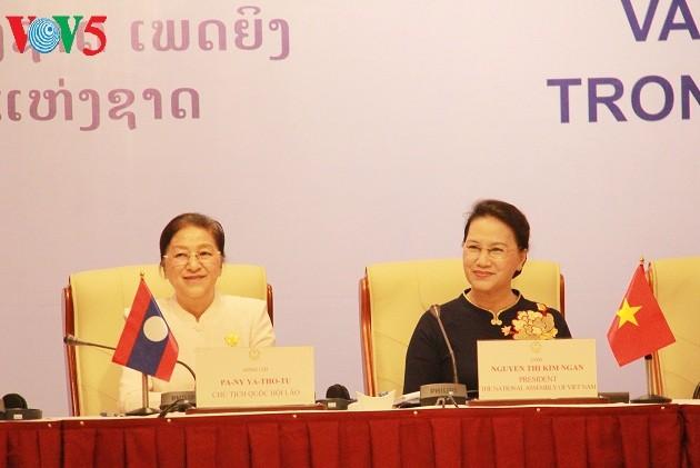 Hội thảo vai trò nữ đại biểu trong hoạt động Quốc hội - ảnh 1