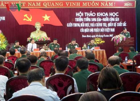 Hội thảo Thượng tướng Song Hào - Người cộng sản kiên trung, mẫu mực - ảnh 1