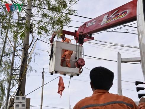 Khẩn trương khắc phục hậu quả của bão Doksuri  - ảnh 2