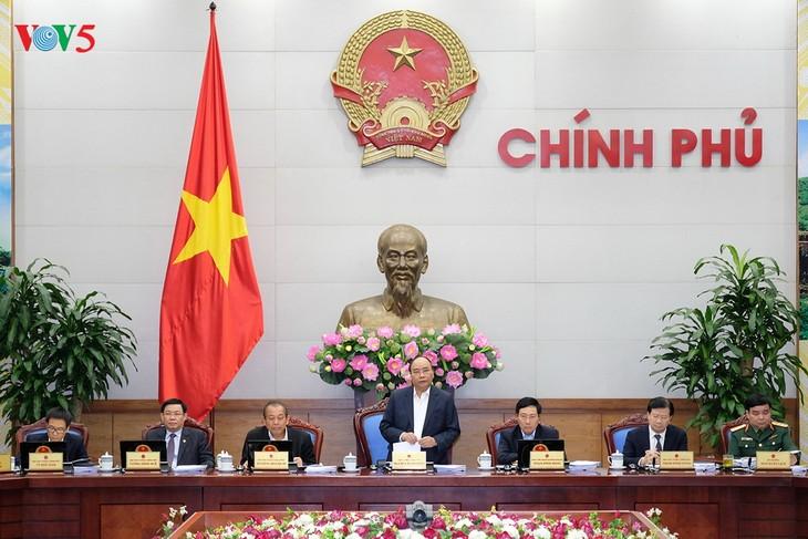 Khai mạc phiên họp Chính phủ thường kỳ tháng 11 - ảnh 1