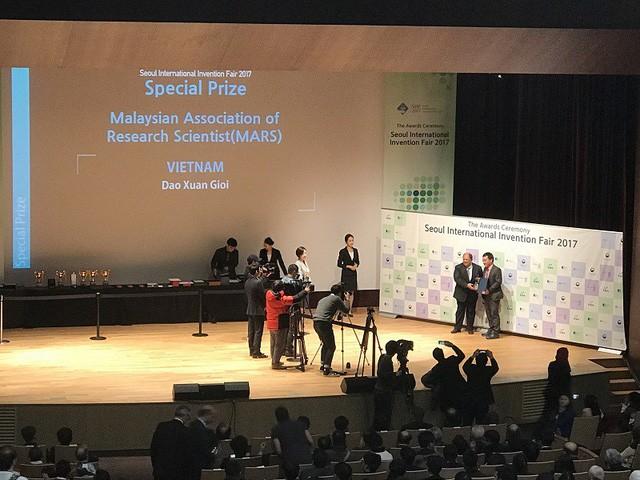 Việt Nam đoạt giải thưởng cao tại Hội chợ triển lãm sáng tạo quốc tế Seoul năm 2017 - ảnh 1