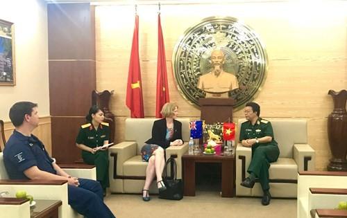 Newzealand hỗ trợ đào tạo ngoại ngữ cho bác sỹ Bệnh viện Dã chiến Việt Nam làm nhiệm vụ quốc tế - ảnh 1