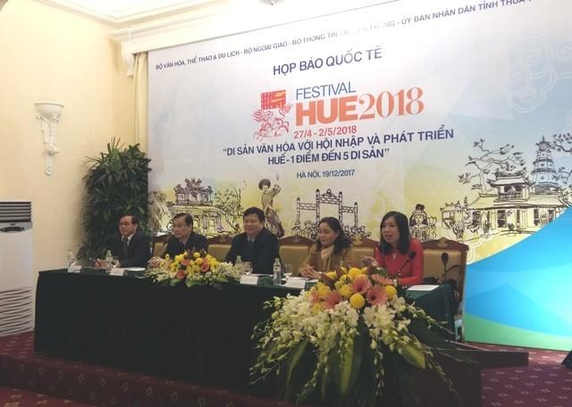 Festival Huế 2018 đa sắc màu văn hóa, mới lạ và hấp dẫn - ảnh 1