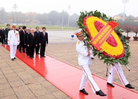Feier zum 82. Gründungstag der kommunistischen Partei Vietnams - ảnh 1