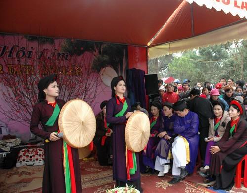 Das Fest in der Heimat des Quan Ho-Gesangs eröffnet - ảnh 1