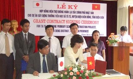 Japan unterstützt Vietnam beim Bau von Schulen - ảnh 1