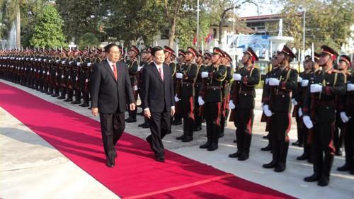 Enge freundschaftliche Beziehungen zwischen Vietnam und Laos - ảnh 1