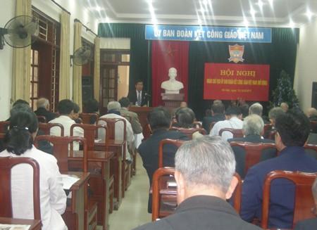 Vietnamesische Katholiken stärken ihren Patriotismus - ảnh 1