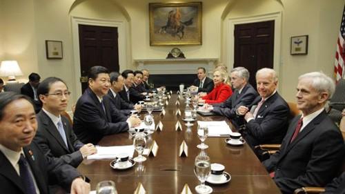 Die USA und China pflegen ihre Beziehungen - ảnh 1