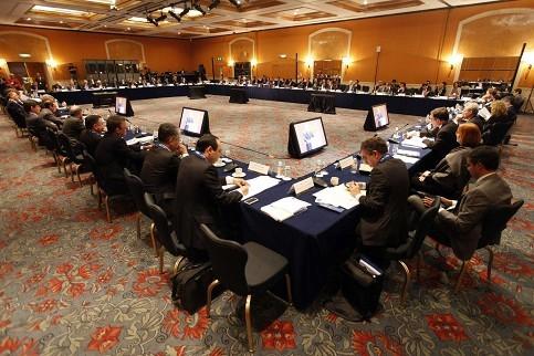 G20-Finanzminister und Notenbankchefs tagen in Mexiko-Stadt - ảnh 1