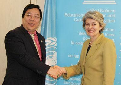Vietnam unterstützt den Reformprozess der Unesco - ảnh 1