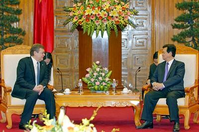 Vietnam und die Ukraine bauen ihre Beziehungen aus - ảnh 1