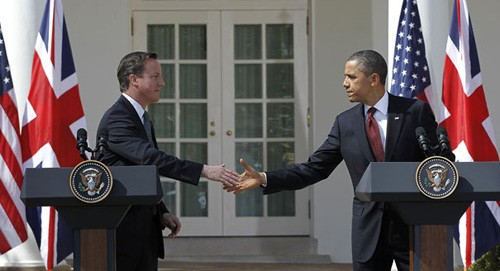 Die USA und Großbritannien tagen im Weißen Haus - ảnh 1