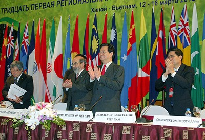 Eröffnung der FAO-Konferenz für die asiatisch-pazifische Region in Hanoi - ảnh 1