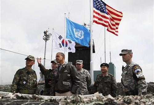 US-Präsident Barack Obama zu Gast in Südkorea - ảnh 1