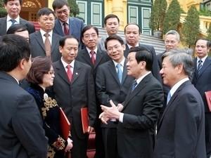 Ernennung von vietnamesischen Botschaftern und Konsuln im Ausland - ảnh 1