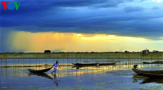 Die romantische Landschaft der Tam Giang Lagune - ảnh 15