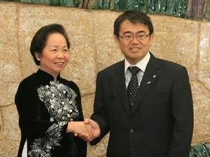 Vize-Staatspräsidentin Nguyen Thi Doan besucht Japan - ảnh 1