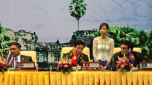 Konferenz der ASEAN-Verteidigungsminister in Kambodscha beendet - ảnh 1