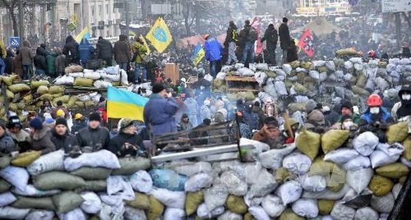 Die politische Unruhe in der Ukraine spitzt sich zu - ảnh 1