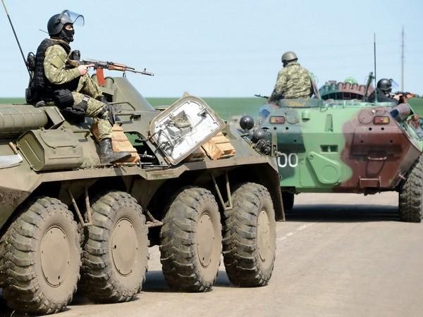 Spannungen in der Ostukraine verschärfen sich - ảnh 1