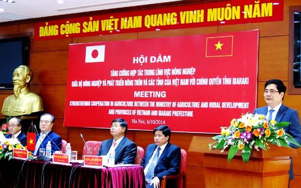 Vietnam und Japan verstärken ihre Zusammenarbeit in der Landwirschaft - ảnh 1