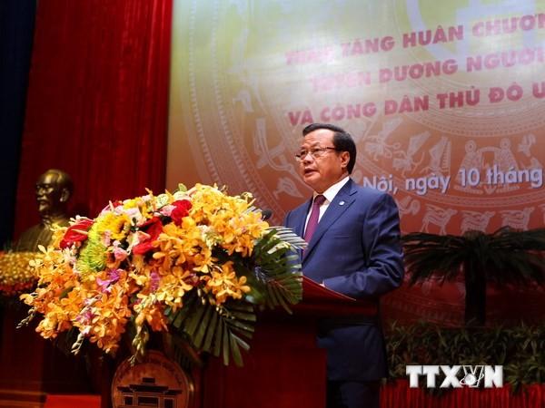 Feier zum 60. Befreiungstag der Hauptstadt Hanoi - ảnh 1