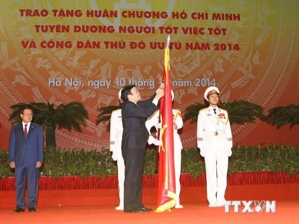 Feier zum 60. Befreiungstag der Hauptstadt Hanoi - ảnh 2