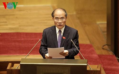 Eröffnung der 8. Parlamentssitzung - ảnh 1