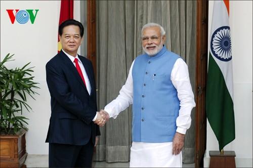 Strategische Partnerschaft zwischen Vietnam und Indien intensivieren - ảnh 1
