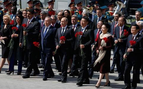 Staats- und Regierungschefs der Länder weltweit beglückwünschen Russland zum Sieg gegen Faschismus - ảnh 1