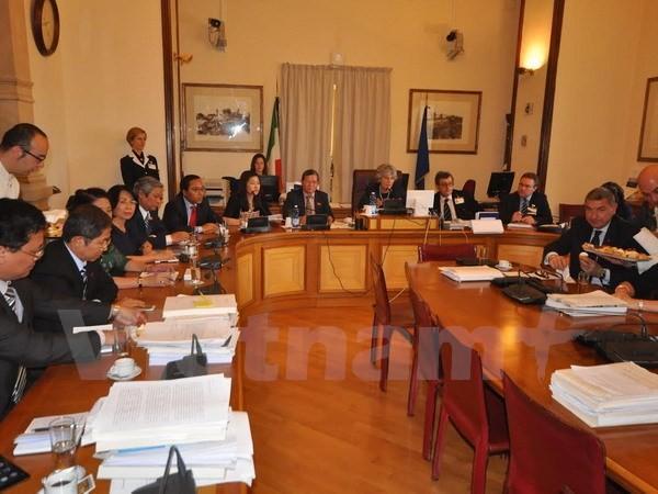 Parlamente von Vietnam und Italien wollen Erfahrungen zur Kulturbewahrung austauschen - ảnh 1