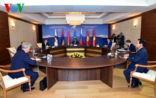 FTA zwischen Vietnam und Eurasische Wirtschaftsunion: Durchbruch in der Wirtschaftszusammenarbeit - ảnh 1