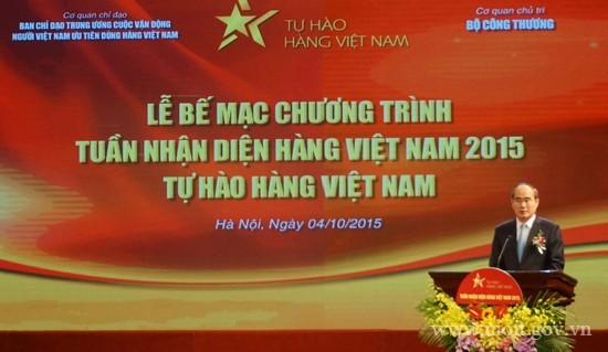 Die Woche für vietnamesische Waren - ảnh 1