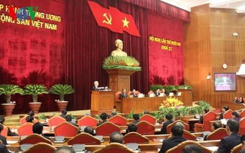Auf der 12. Sitzung des KP-Zentralkomitees werden wichtige Fragen der Partei beschlossen - ảnh 1