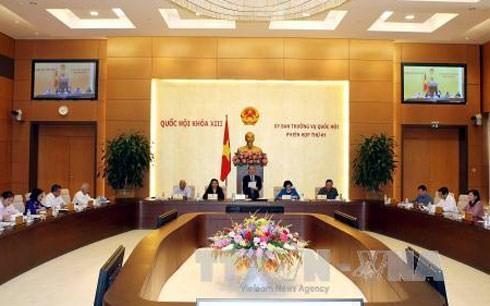 Eröffnung der 42. Sitzung des Ständigen Parlamentsausschusses  - ảnh 1