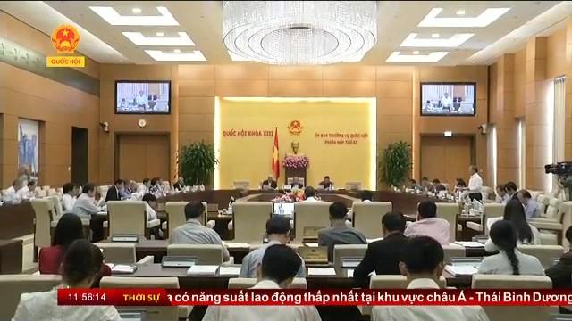 Der ständige Parlamentsausschuss berät den Gesetzesentwurf über Verbände - ảnh 1