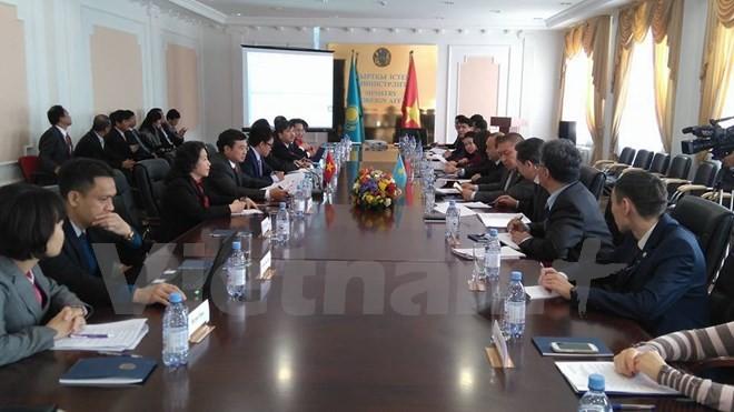 Die Kasachstan-Vietnam-Regierungskommission trifft sich in Astana - ảnh 1