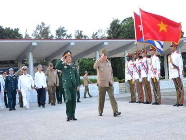 Die Kooperation zwischen Armeen Vietnams und Kubas verstärken - ảnh 1