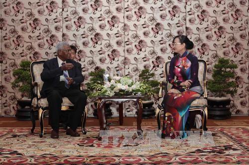 Verwalter von Ho Chi Minh Stadt empfangen die Delegation der KP-Indien - ảnh 1